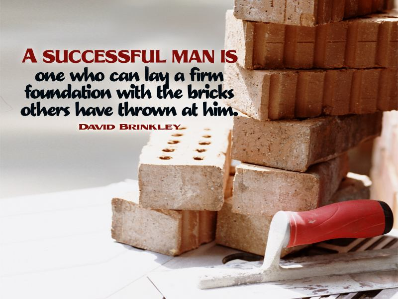 Success builds off of foundations